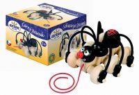 Pavouk tahací dřevěný
