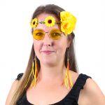 Sada hippies žlutá