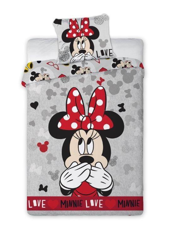 Faro Dětské povlečení Minnie Mouse 061 Minnie 061 200 x 140 cm