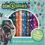 Voskovky šroubovací Dinosaurs