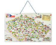 Magnetická mapa ČR s hrou 3 v 1