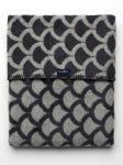 Dětská bavlněná deka se vzorem Womar 75x100 šedo-grafitová 30990