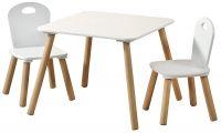 Dětský stůl s židlemi Scandi