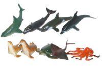 Zvířata mořská 9 ks v sáčku
