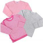 Kojenecká košilka New Baby Classic II Holka 3ks 35035