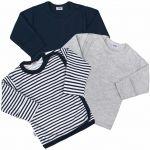 Kojenecká košilka New Baby Classic II Kluk 3ks 35027