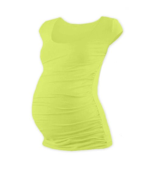 JOŽÁNEK Těhotenské triko mini rukáv Johanka- sv. zelená