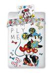 Dětské povlečení Minnie Mouse 140 x 200 cm 70x90 cm kresba Simply Me