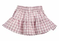 Pinokio Kostkovaná letní sukně Sweet Cherry - lila/bílá, vel. 74