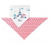 BabyOno Dětský bryndáček/šátek - Paris