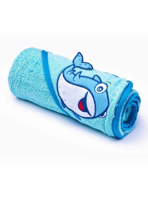 Dětská osuška Sensillo 3D Zvířátka 75x75 cm blue