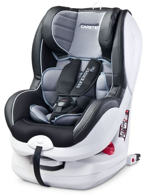 Autosedačka CARETERO Defender Plus Isofix grey 2016 25453