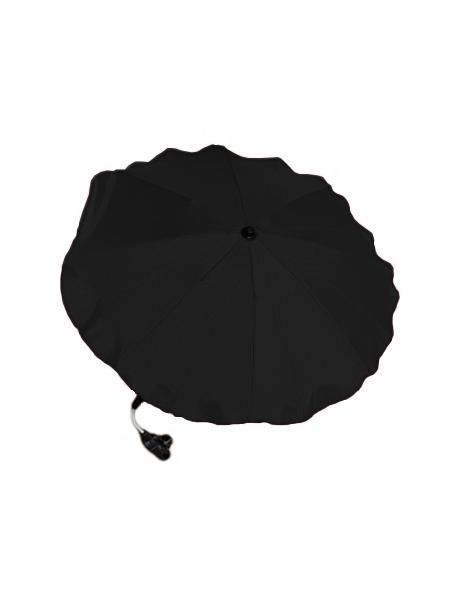 Slunečník na kočárek - černý 7444 NEW BABY
