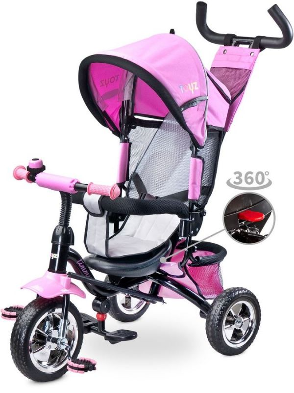 Dětská tříkolka Toyz Timmy pink 2017 31419