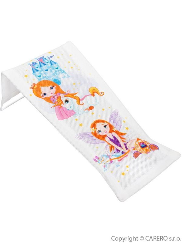 Látkové lehátko ke koupání Malá Princezna bílé 30889 TEGA