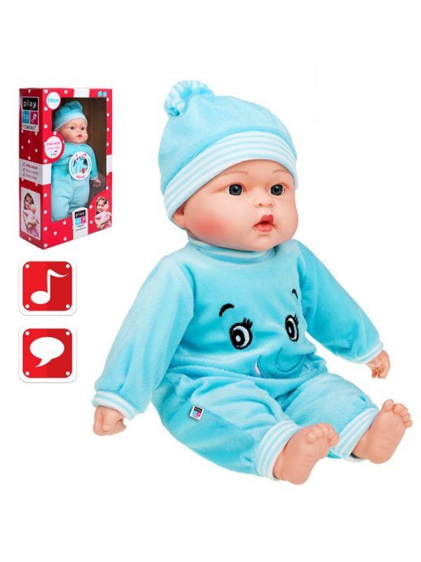 Polsky mluvící a zpívající dětská panenka PlayTo Beatka 46 cm 26784