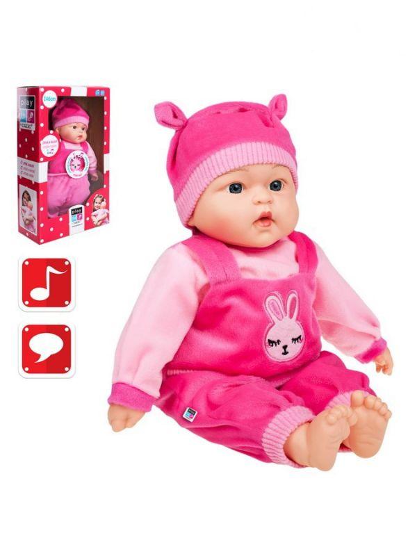 Polsky mluvící a zpívající dětská panenka PlayTo Zosia 46 cm 26787