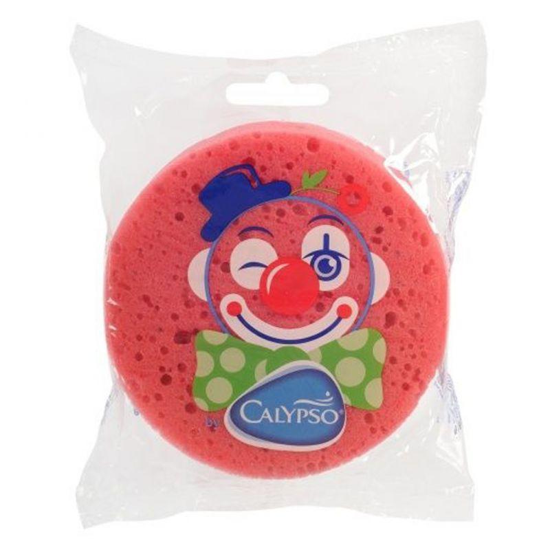Koupelová houba Klaun Calypso tmavě růžová 36784