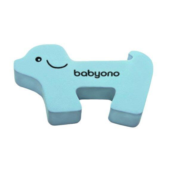 Zarážka na dveře Baby Ono pejsek modrý 34628
