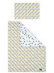 5-dílné ložní povlečení Belisima Koťátka 100/135 žluté