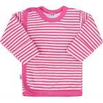 Kojenecká košilka New Baby Classic II s růžovými pruhy